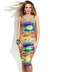 Молодёжное платье-футляр Donna Saggia DSP-153-81t