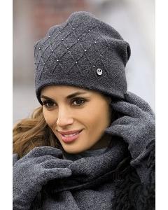 Женская шапка Kamea Rafaela (коллекция зима 2016/2017)