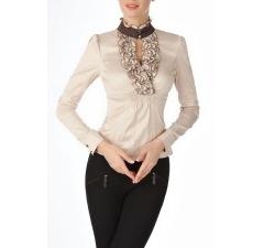 Офисная блузка с жабо Golub | Б768-835-870