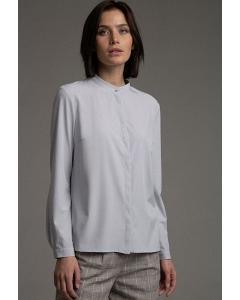 Блуза простого кроя в деловом стиле Emka B2300/letter