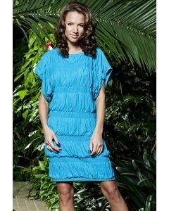 Бирюзовое платье Topdesign Premium PA3 43