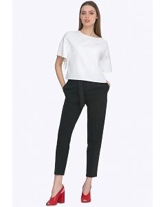 Чёрные женские брюки-чиносы Emka D093/premiera