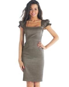 Изысканное платье-футляр