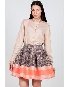 Летняя юбка Emka Fashion 475-pira