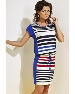 Простое летнее платье TopDesign A4 020