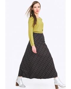Шерстяная длинная юбка Emka 314/botilda