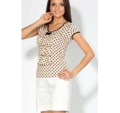 Странная блузка с жабо | 3592