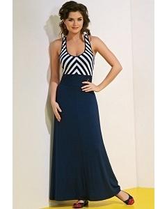 Длинное платье без рукавов TopDesign A4 079