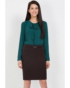Юбка коричневого цвета Emka Fashion 480-labiba
