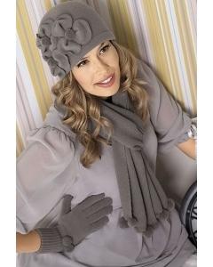 Комплект (шапка + шарф + перчатки) Willi Priscila