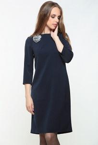 Платье синего цвета Bravissimo 162550
