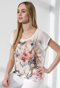 Недорогая стильная летняя блузка Sunwear I14-2-36