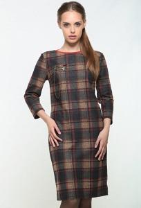 Платье в клетку Bravissimo 162556