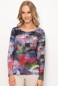 Цветастая блузка Sunwear Z67-5-25