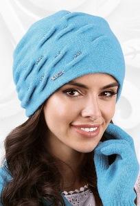 Женская шапка с драпировкой Kamea Portofino