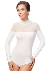 Сексуальное боди молочного цвета Viva La Donna Б 24-2