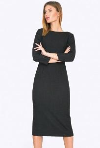 Офисное платье-миди Emka PL550/latisha