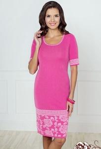 Платье из вязанного трикотажа Andovers 405624
