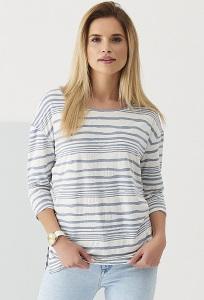 Лёгкая полосатая блузка для лета Sunwear Q03-4-15