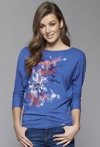 Женская блузка бордового цвета Zaps Neo