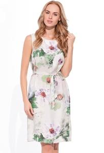 летнее платье 2017 с цветами
