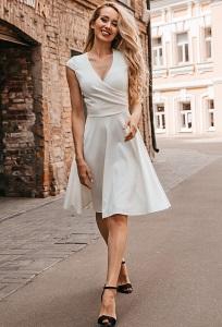 Коктейльное платье из трикотажа Donna Saggia DSP-337-40t