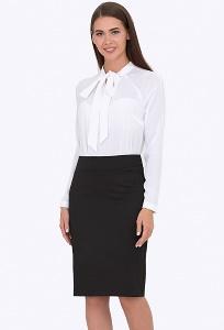 Чёрная юбка для офиса Emka Fashion 678/giacinta