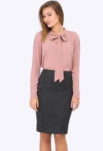 Шерстяная юбка-карандаш Emka Fashion 658-zolina