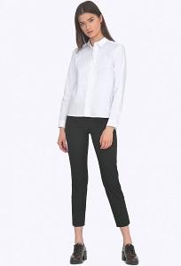 Женские брюки чёрного цвета Emka D021/lenora
