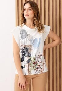 Летняя кружевная польская блузка Sunwear I49-2-08