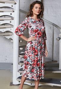 Летнее платье TopDesign A8 023