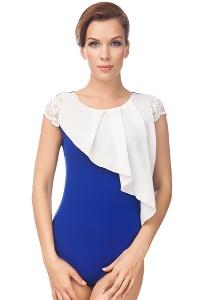 Асимметричная блузка боди Viva La Donna Б 09-3