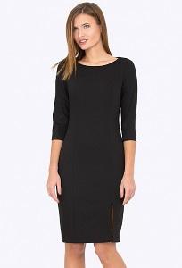 Платье чёрного цвета Emka Fashion PL-558/milisa