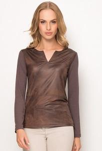 Коричневая блузка Sunwear Z74-5-01