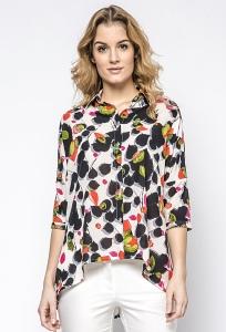 Летняя рубашка с асимметричным видом Ennywear 230138