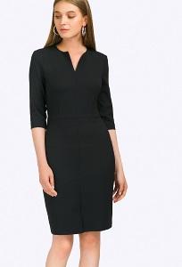 Платье в офисном стиле Emka PL763/almaza