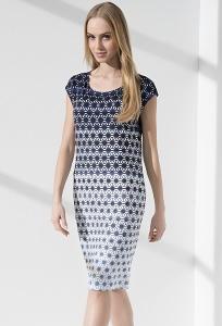 Приталенное женcкое платье Sunwear IS205-2-30