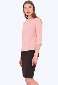 Тёмно-коричневая юбка-карандаш Emka Fashion 667/afraida