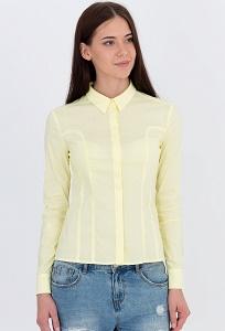 Рубашка жёлтого цвета Emka Fashion b 2102/minna
