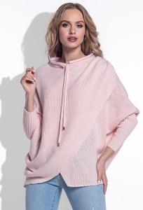 Женский свитер розового цвета Fimfi I160