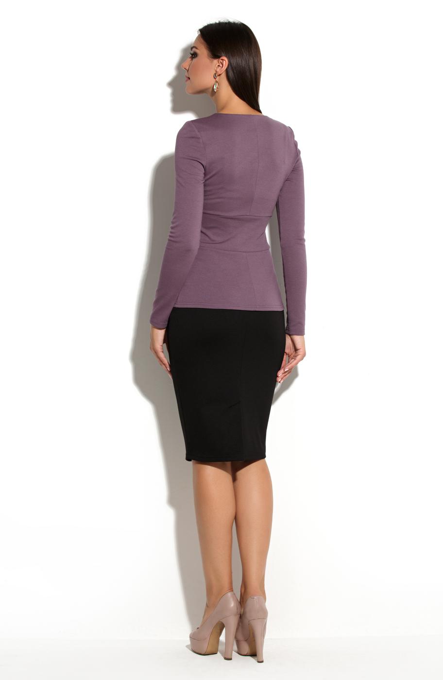 Блузка с поясом доставка
