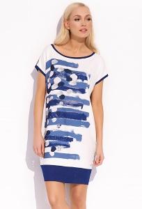 Летнее трикотажное платье Zaps Vicki
