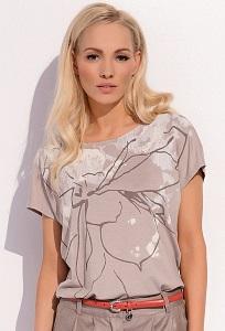 Бежевая блузка Zaps Paula