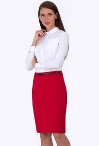 Красная юбка Emka Fashion 675-rostislava