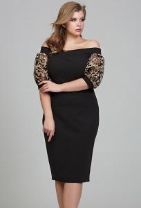 Красивое нарядное платье-футляр Donna Saggia DSPB-30-57t