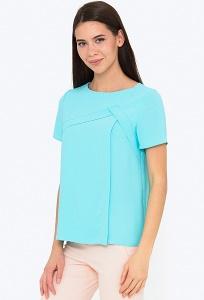Блузка прямого кроя с короткими рукавами Emka b 2248/beatris