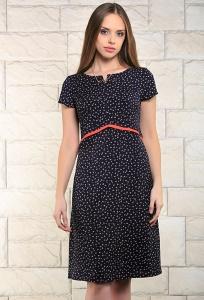 Летнее платье тёмно-синего цвета Issi 171515