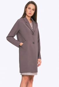 Женское пальто цвета какао Emka R-006/esmeralda