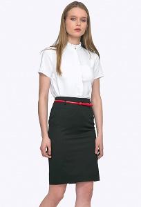 Традиционная черная юбка Emka S202-60/djolin