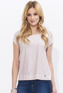 Светло-розовая летняя блузка из хлопка Zaps Verna